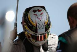 Lewis Hamilton, Mercedes AMG F1 in griglia