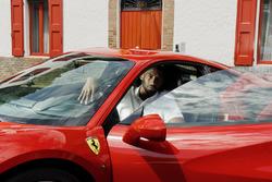Kobe Bryant alla Ferrari