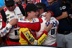 Jeff Gordon, Hendrick Motorsports, Chevrolet; Tony Stewart, Stewart-Haas Racing, Chevrolet