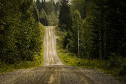 Berühmte Straßen in Finnland