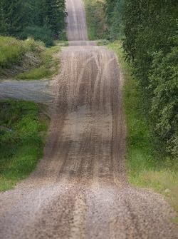 Ünlü Finlandiya Rallisi yolları