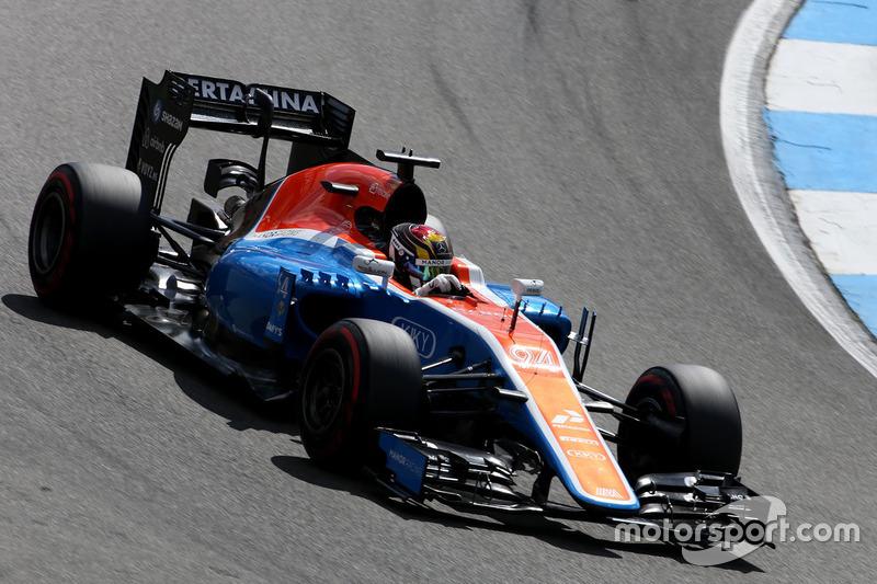 17: Паскаль Верляйн, Manor Racing