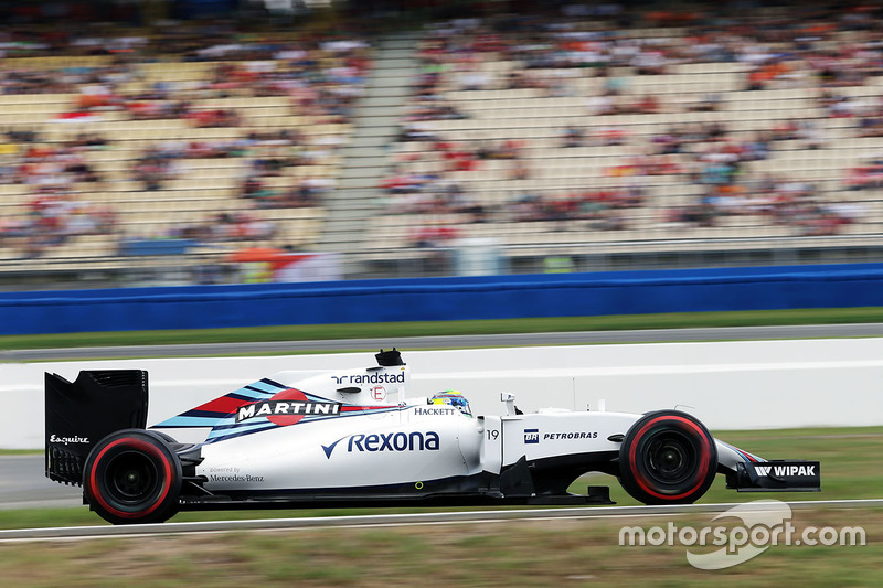 Ausgefallen: Felipe Massa, Williams FW38