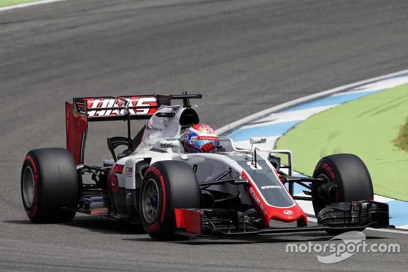 20: Romain Grosjean, Haas F1 Team VF-16 (Straf: 5 gridplaatsen)