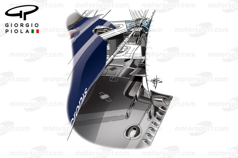 Toro Rosso STR11: Diffusor