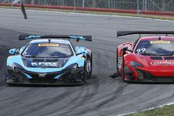 Unfall: #6 K-Pax Racing, McLaren 650S GT3: Austin Cindric; #99 Gainsco/Bob Stallings Racing, McLaren 650S GT3: Jon Fogarty