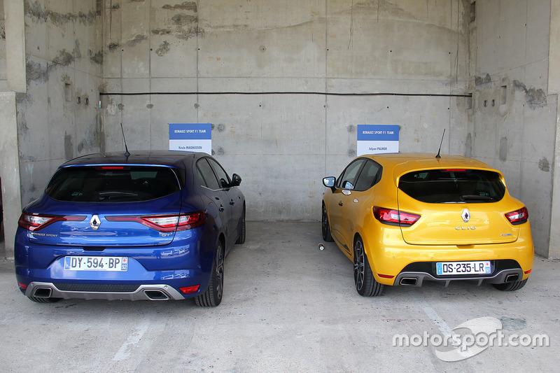 Дорожні автомобілі команди Renault F1