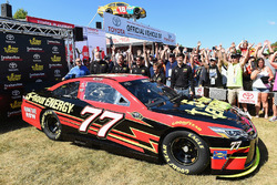 Erik Jones, Furniture Row Racing Toyota, car unveil