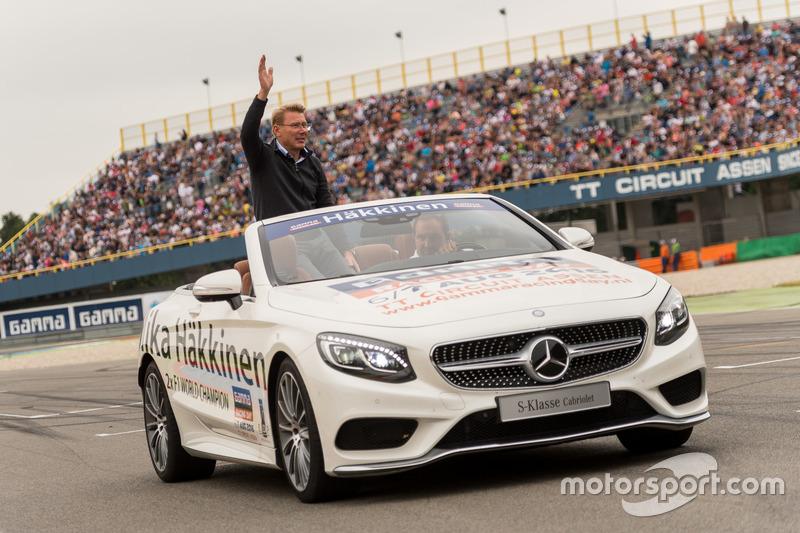 Mika Häkkinen vertegenwoordigde Mercedes