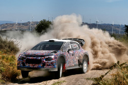 Kris Meeke, Craig Breen e Khalid Al-Qassimi, Citroën World Rally Team, Citroën C3 WRC Plus 2017