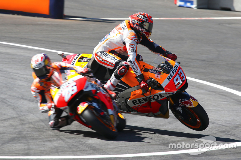 Marc Marquez, Repsol Honda Team, accidente