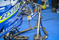 Team Suzuki MotoGP, dettaglio della moto