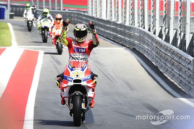 1. Andrea Iannone, Ducati Team