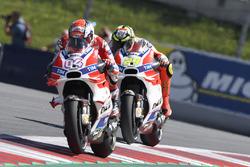 Andrea Dovizioso, Ducati Team, Andrea Iannone, Ducati Team