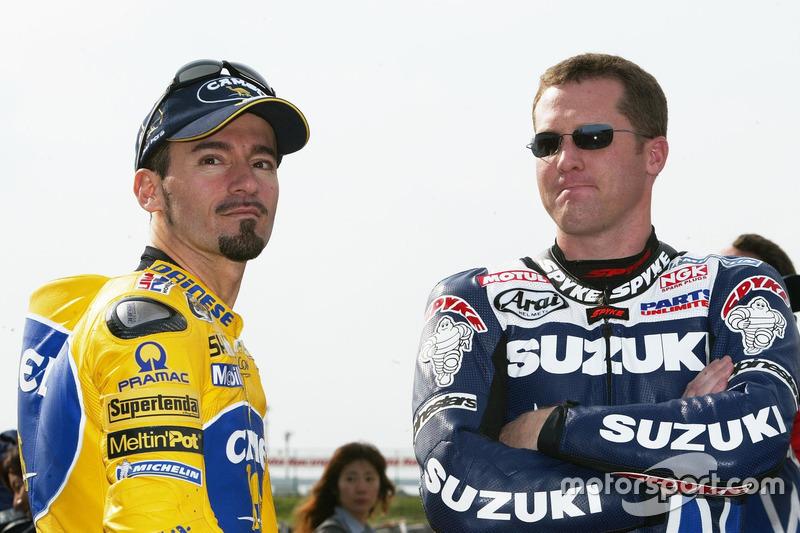 Max Biaggi, Pramac Pons, Kenny Roberts Jr., Team Suzuki