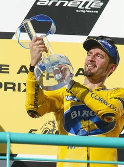 Podium: tercero, Max Biaggi, Pramac Pons