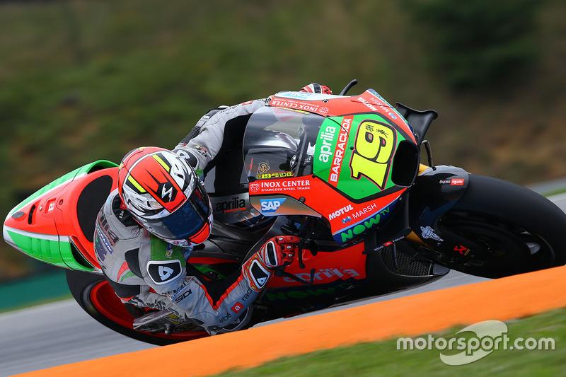 19. Alvaro Bautista, Aprilia Racing Team Gresini
