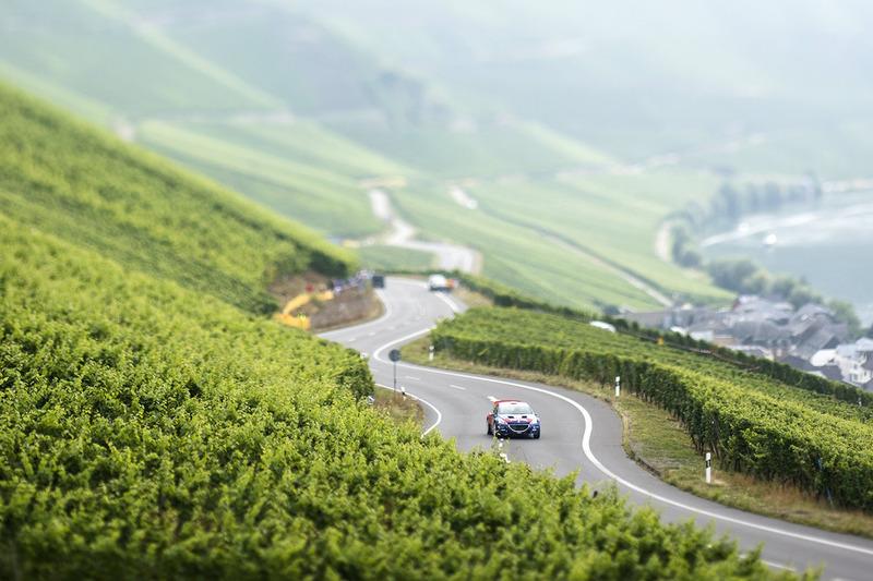 Impressionen von der Rallye Deutschland