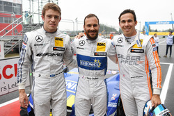 Polesitter Gary Paffett, Mercedes-AMG Team ART, Mercedes-AMG C63 DTM; 2. Robert Wickens, Mercedes-AMG Team HWA, Mercedes-AMG C63 DTM; 3. Paul Di Resta, Mercedes-AMG Team HWA, Mercedes-AMG C63 DTM