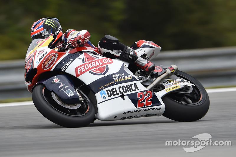 Sam Lowes, Federal Oil Gresini Moto2
