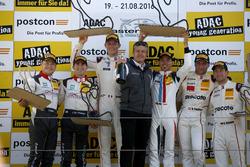 Podium: Sieger #17 KÜS TEAM 75 Bernhard, Porsche 911 GT3 R: David Jahn, Kévin Estre; 2.#29 Montaplast by Land-Motorsport, Audi R8 LMS: Connor De Phillippi, Christopher Mies; 3. #99 Precote Herberth Motorsport Porsche 911 GT3 R: Robert Renauer, Martin Ragginger