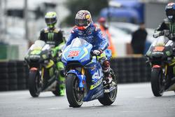 Startaufstellung: Maverick Viñales, Team Suzuki MotoGP
