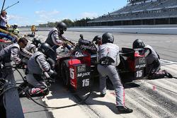 Boxenstopp: Graham Rahal, Rahal Letterman Lanigan Racing, Honda