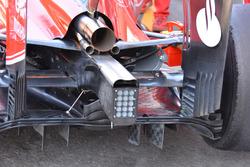 Rear, Ferrari SF16-H