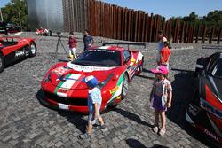 #55 AF Corse, Ferrari 458 GT3: Claudio Sdanewitsch, Rino Mastronardi