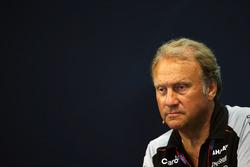 Robert Fernley, Sahara Force India F1 Director Adjunto del equipo en la Conferencia de prensa FIA
