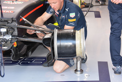 Detail vordere Bremse, Red Bull Racing RB12