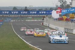 Laureano Campanera, Donto Racing Chevrolet, Prospero Bonelli, Bonelli Competicion Ford, Matias Rossi, Donto Racing Chevrolet, Juan Pablo Gianini, JPG Racing Ford