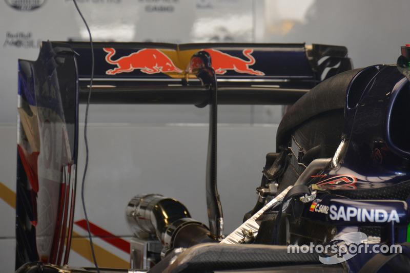 Toro Rosso STR11: Heckflügel