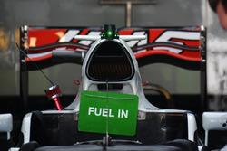 Haas F1 Team VF-16, Hava girişi