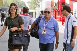 Феліпе Масса, Williams з дружиною Рафаелою Бассі,, та батько Луіс-Антоніо Масса
