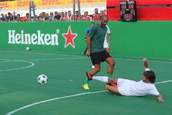 Heineken voetbalwedstrijd voor het goede doel, Fernando Alonso, McLaren Honda