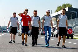 Charles Leclerc, ART Grand Prix ve Esteban Gutierrez and the Haas F1 Team