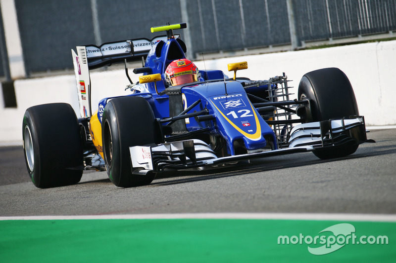 Ausgefallen: Felipe Nasr, Sauber C35