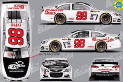 Throwback-Design von Cole Whitt, Premium Motorsports, Chevrolet