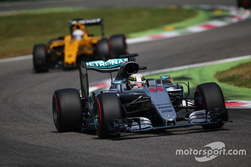 Гран Прі Італії 2016, Mercedes F1 W07 Hybrid