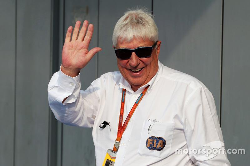 Herbie Blash, FIA Delegate