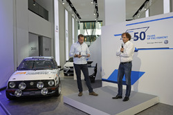 Patrick Simon, Dr. Donatus Wichelhaus bei der Eröffnungveranstaltung - 50 Jahre - Volkswagen Motorsport