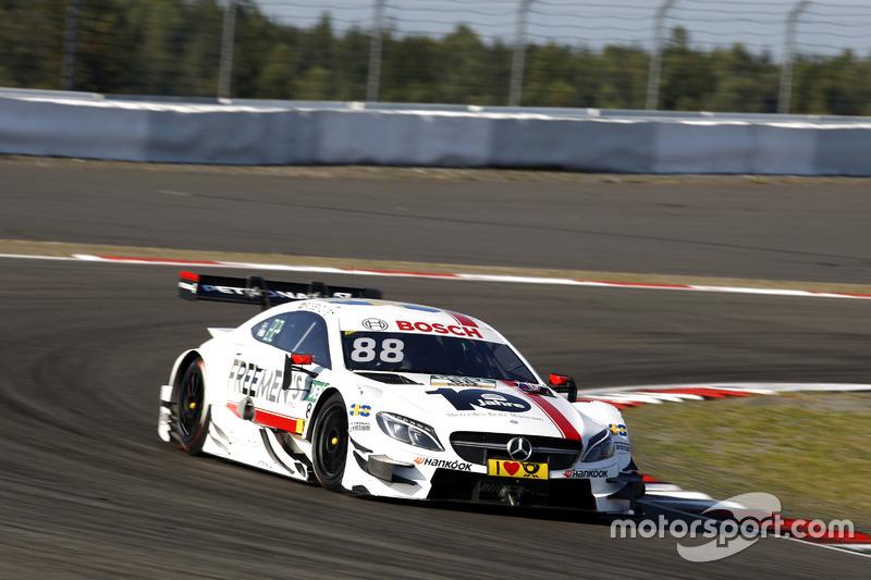 19. Felix Rosenqvist, Mercedes-AMG Team ART, Mercedes-AMG C 63 DTM