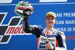 Le vainqueur Lorenzo Baldassarri, Forward Racing