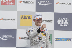 Podium: Sieger Maximilian Günther Prema Powerteam, Dallara F312 - Mercedes-Benz