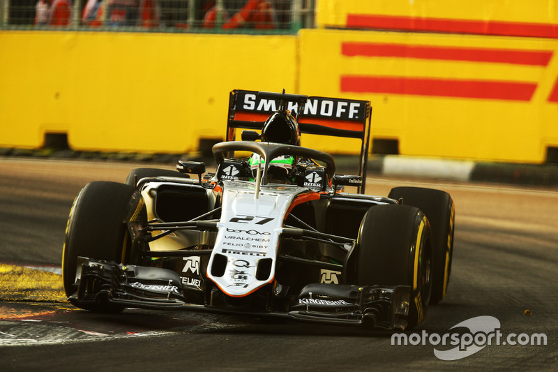 Nico Hulkenberg, Sahara Force India F1 VJM09 ve Halo
