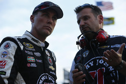 Kevin Harvick and crew chief Rodney Childers, Stewart-Haas Racing Chevrolet