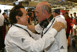 Райнхольд Йост, глава Audi Sport Team Joest, Dr. Вольфганг Ульрих, глава Audi Sport