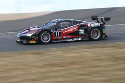 #11 Kessel Racing, Ferrari 458 Italia GT3: Michal Broniszewski, Andrea Rizzoli, Alessandro Bonacini