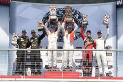 PC Podium: winnaars #8 Starworks Motorsports ORECA FLM09: Renger van der Zande, Alex Popow, tweede plaats #52 PR1 Mathiasen Motorsports ORECA FLM09: Robert Alon, Tom Kimber-Smith, derde plaats #38 Performance Tech Motorsports ORECA FLM09: James French, Kyl